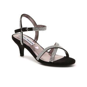 Steve Madden Jclass jeweled kitten heels